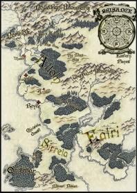 Black Powder Wars series map from Black Martlet