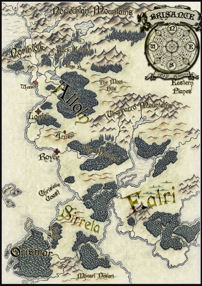 BLACK MARTLET MAP