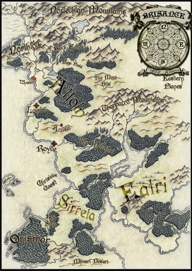 BLACK MARTLET MAP
